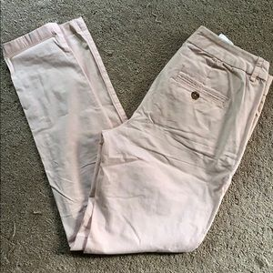 H and M pink chinos